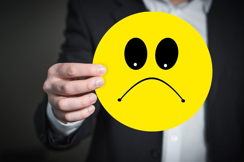 emoji, smútok, podnikanie