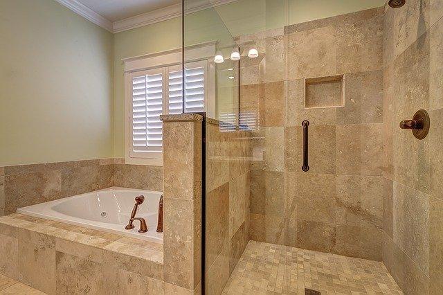 Kúpelňa, sprchový kút